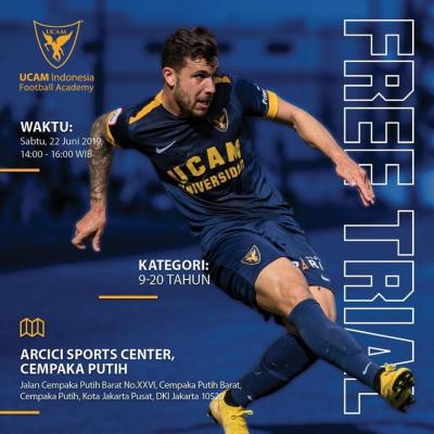 Free Trial UCAM Indonesia Football Academy