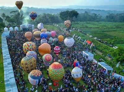 Festival Balon Udara sebagai Media Tradisi, Rekreasi, dan Edukasi