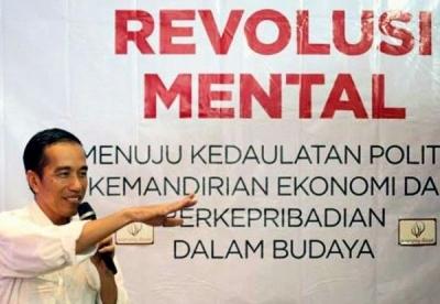 Menanti Realisasi Revolusi Mentalnya Pakde