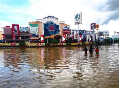 20.000 jiwa terendam banjir, Anda Kemana Tuan ? (Samarinda-Kaltim)