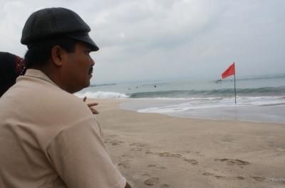 Di Pantai Kuta