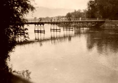 Jembatan Porsea, Ajang Pertempuran pada Perang Dunia II