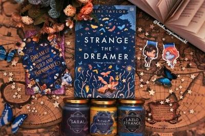 """""""Mimpi Memilih Sang Pemimpi, Bukan Sebaliknya.""""-Strange The Dreamer"""