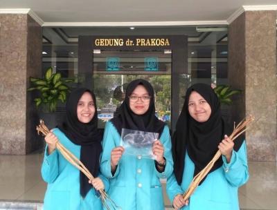 Mahasiswa UNS Buat Bioplastik Ramah Lingkungan dari Limbah Enceng Gondok