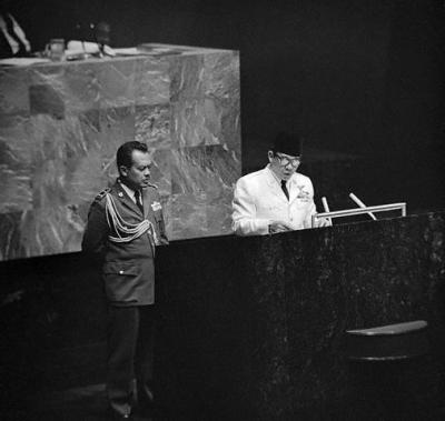 Malaysia, Indonesia, dan PBB Tahun 1964-1965