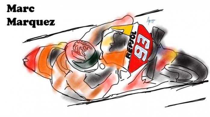 Kecerdikan-kecerdikan Marc Marquez