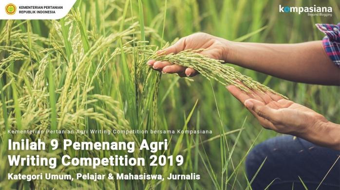 Inilah 9 Pemenang Agri Writing Competition 2019 bersama Kementerian Pertanian!