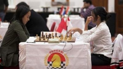 WIM Chelsie Monica Ignesias Sihite Berhasil Meraih Norma WGM Chess Tournament 2019