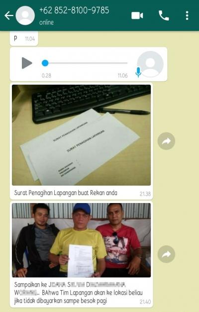 Jerat Pinjaman Online