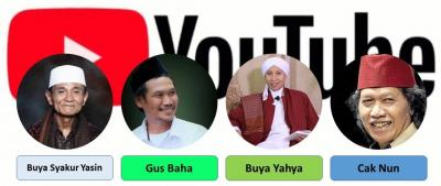 Pasca Jokowiforia, Kyai Tua NU Menaklukan Youtube