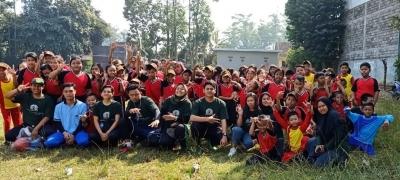 Tingkatkan Bakat Sejak Dini, Mahasiswa KKN Desa Kemiri Adakan Program Pelatihan Sepak Bola