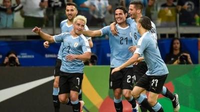 Kalahkan Chile, Uruguay Masih Jadi Penantang Gelar