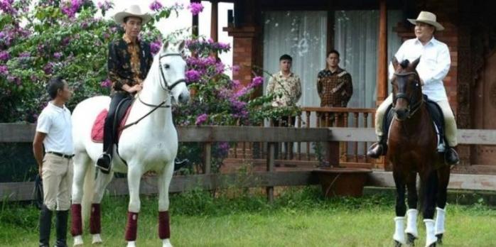 Jika Gagal Presiden, Prabowo dan Jokowi akan Sama-sama Berkuda lagi?