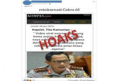 Hoaks Menyerang Kompas.com, Tangkap Pelakunya!