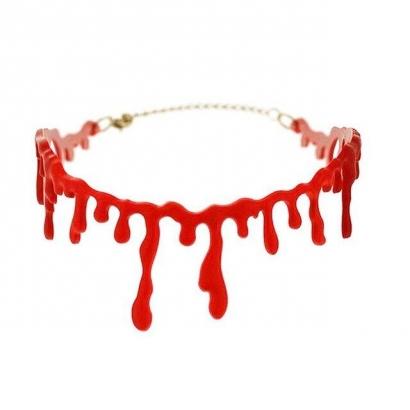 Kalung Merah Darah
