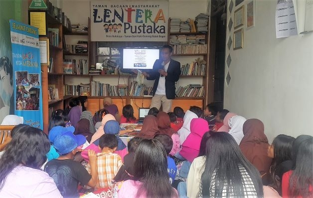 Taman Bacaan di Indonesia Dihadapkan Tantangan Besar