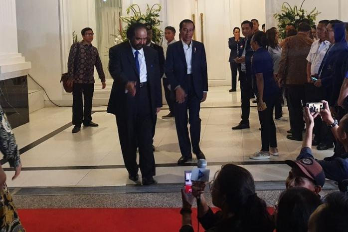 Jokowi di Antara Klaim PDI-P, NasDem, dan Asmindo