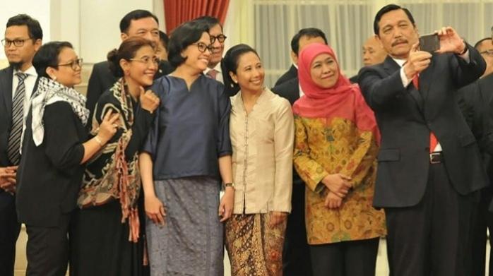 3 Srikandi yang Layak Dipertahankan di Kabinet Kerja Jokowi-Ma'ruf Amin