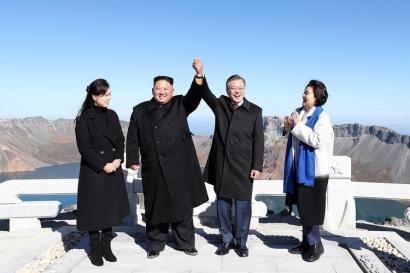 Moon Jae-in akan Persatukan Korea Selatan dan Korea Utara pada 2045
