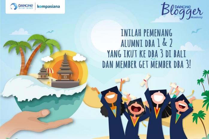 Inilah Pemenang Member Get Member dan Alumni DBA 1 & 2 yang Ikut ke DBA 3 di Bali!