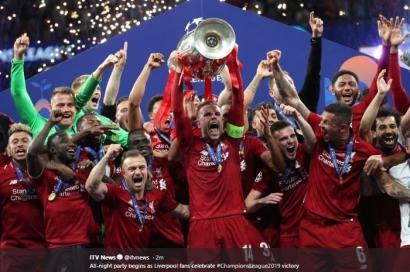 Liverpool Juara Piala Super Eropa