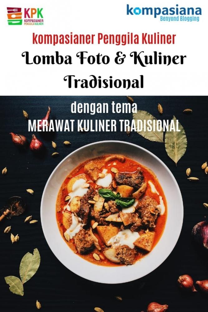 [GIVEAWAY SI MINKUL] Kompasianer Merawat Kuliner Tradisional 2019