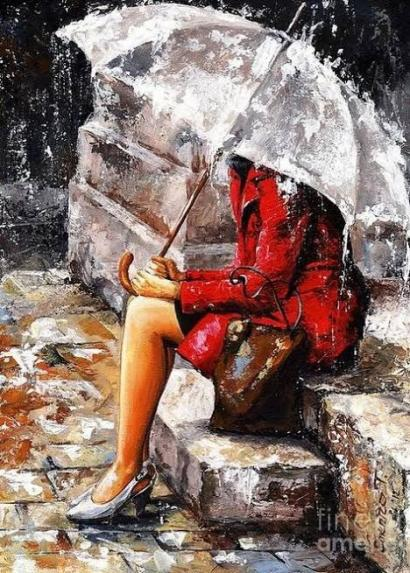 Puisi | Tombol On Di Bawah Rinai Hujan