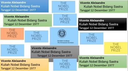 Tulisan ke-43 Kuliah Nobel Sastra 1977 Vincente Aleixandre