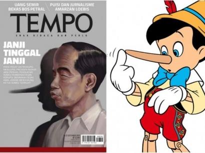 """Kupas Tuntas """"Jokowi Pinokio"""" dalam Majalah Tempo"""