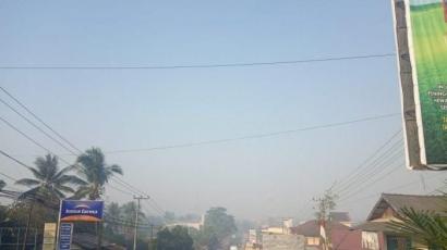 Kabut Asap Kode Keras buat Calon Ibu Kota Negara