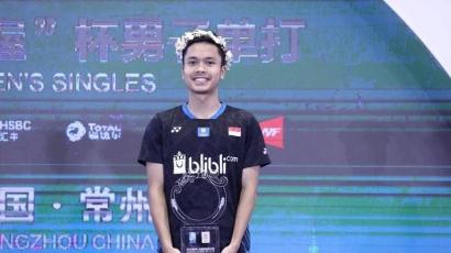 """Fisik Ginting Memang """"Sinting""""! Final China Open 2019"""