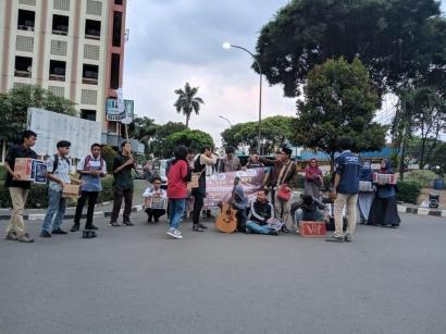 Mahasiswa Maluku di Ciputat Galang Dana untuk Gempa Ambon