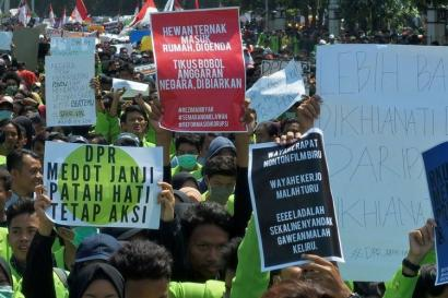 Pengaruh Kultur Pop dalam Gaya Bahasa Demonstran Indonesia