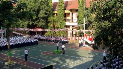 Upacara Bendera, Ruang Menanam Nilai Karakter