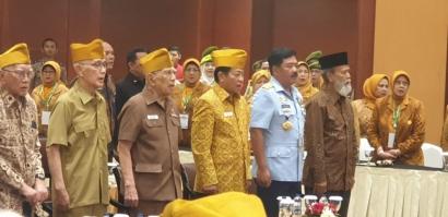 Letnan Jenderal TNI (Purn) Rais Abin Itu Penuhi Janjinya