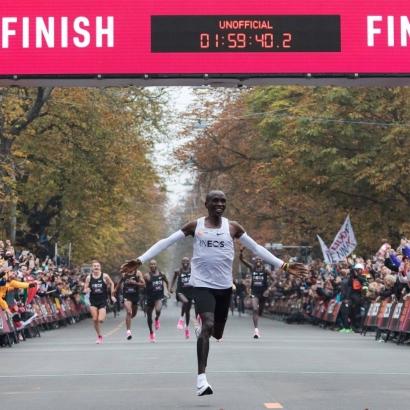 Alasan Kesuksesan Eliud Kipchoge Menjadi Pelari Maraton