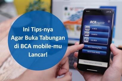 Semakin Simple, Ini Tips Milenial Buka Tabungan di BCA Mobile