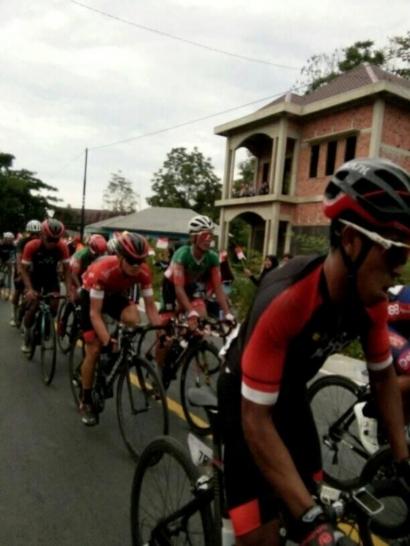Menyelisik Hebohnya Etape VII Tour De Singkarak 2019 di Kabupaten Kerinci