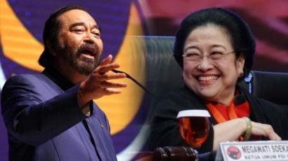 Ternyata Pak Surya Paloh Masih Sayang dengan Bu Megawati