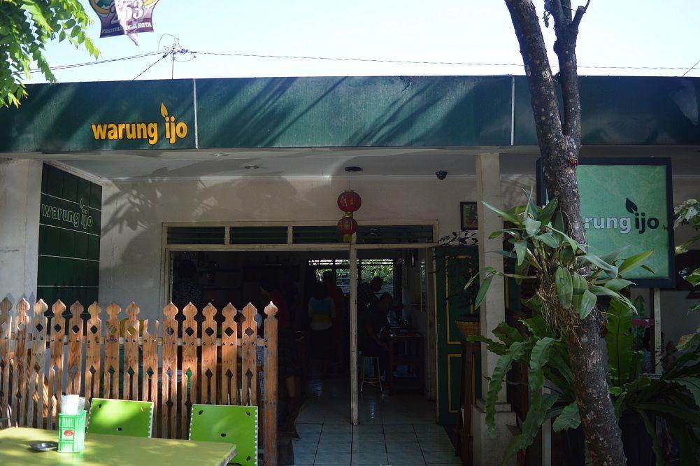 Warung Ijo, Warung Makan Rumahan Khas Yogyakarta