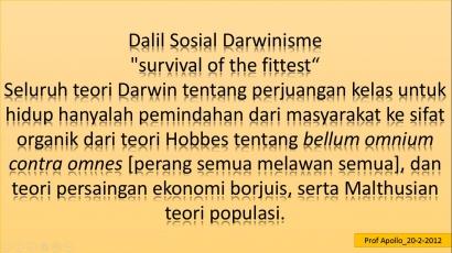 Dialektika Sosial Darwinisme [1]
