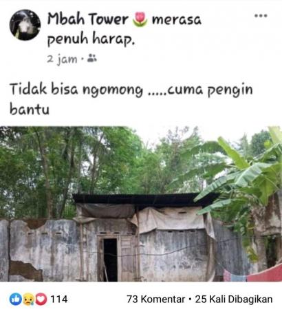 Rumah Berpintu Satu Nini Supinah yang Viral di Banjarnegara Butuh Perhatian