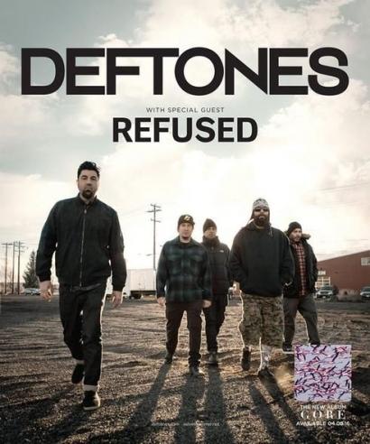 """Deftones, Band Rock Alternatif dengan Musik """"Dark"""" dan Intimidatif"""