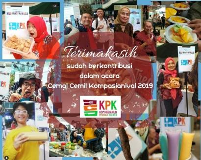 Pemenang Cemal-cemil KPK di Kompasianival 2019