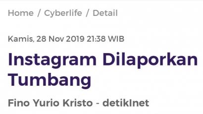 "Di Hari Thanksgiving, Facebook ""Pingsan"""