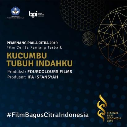 Film Kontroversi Bawa Pulang Piala Citra 2019