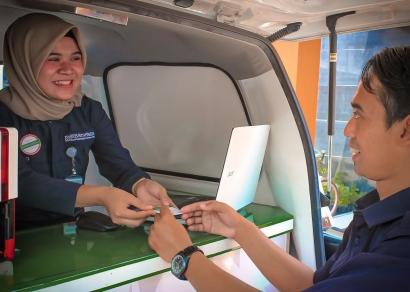 Layanan Jemput Bola BPJS Kesehatan Itu Berarti Ada Mobil Keliling di Pasar dan Alun-alun