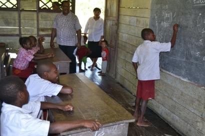 Memahami Pendidikan Dasar Konteks Asmat