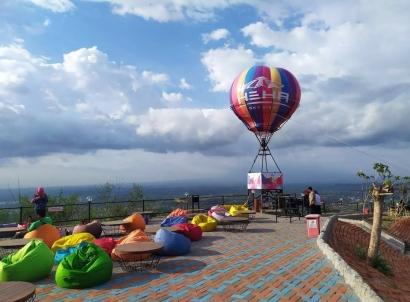 Menikmati Panorama Yogyakarta di Heha Sky View