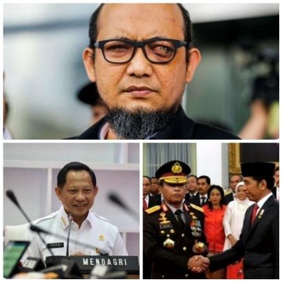 Kasus Novel, Ketika Tito Karnavian Gagal, Amanah Jokowi Ditunaikan Idham Azis, Selanjutnya...